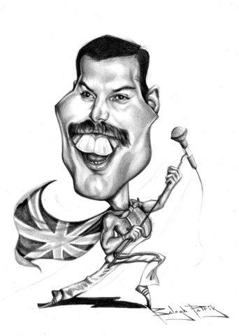 Freddie Mercury By bpatric.