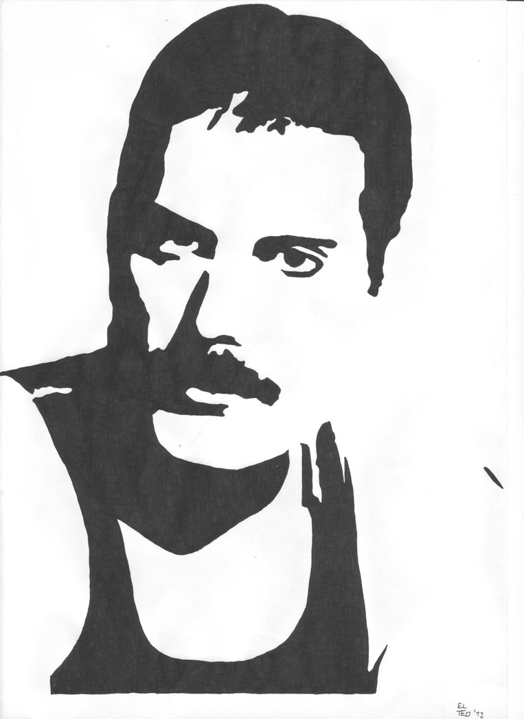 freddie mercury VECTOR.