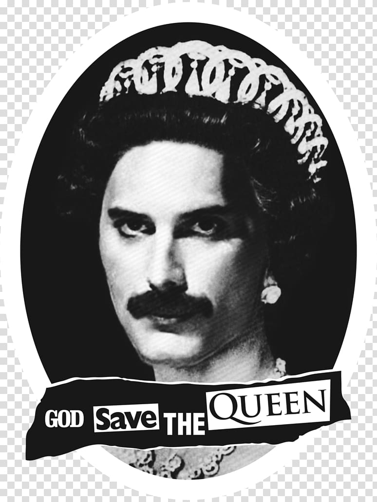 Queen band illustration, Freddie Mercury T.