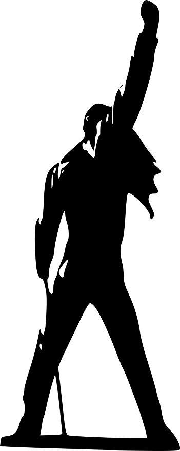 Broomsticker Freddie Mercury.