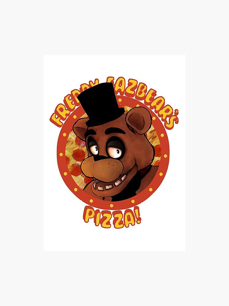 FNAF Freddy Fazbear Logo Fazbear\'s Pizza.