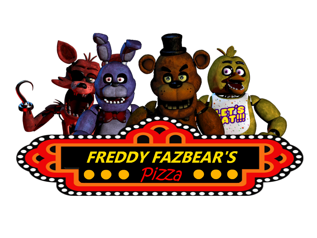 Freddy fazbear\'s pizza Logos.