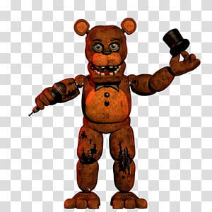 Freddy Fazbear PNG clipart images free download.
