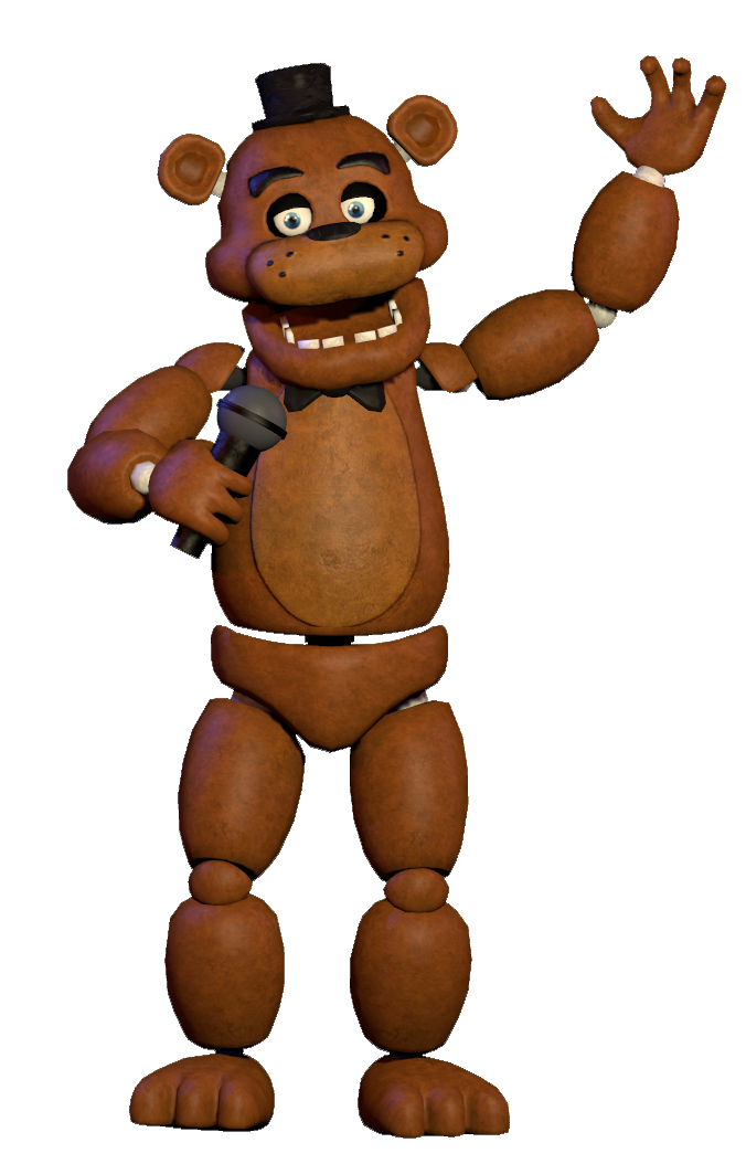Freddy fazbear png clipart images gallery for free download.