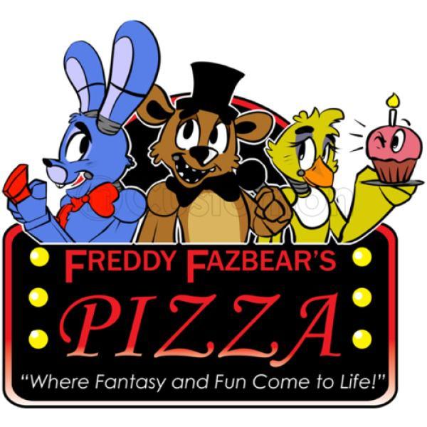 Freddy Fazbear\'s Pizza logo Thong.