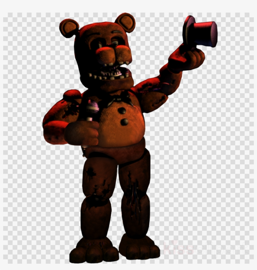 Download Fnaf Unwithered Freddy Clipart Five Nights.