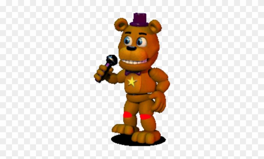 Freddy Fnaf World Gif Clipart (#4235232).