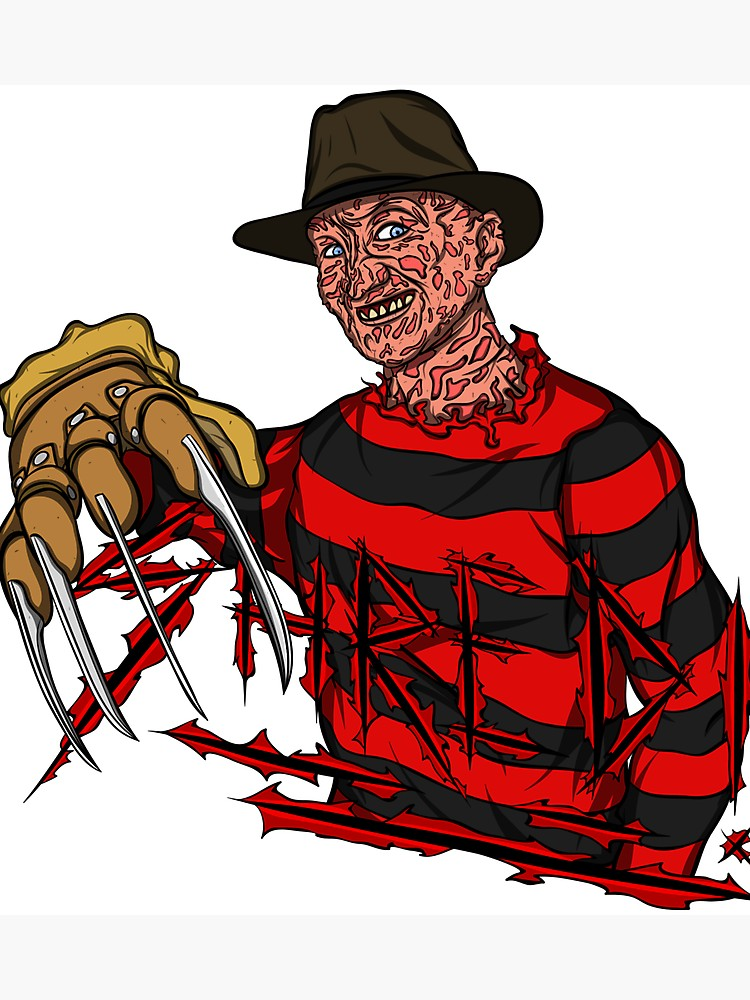 Freddy Krueger Drawing.
