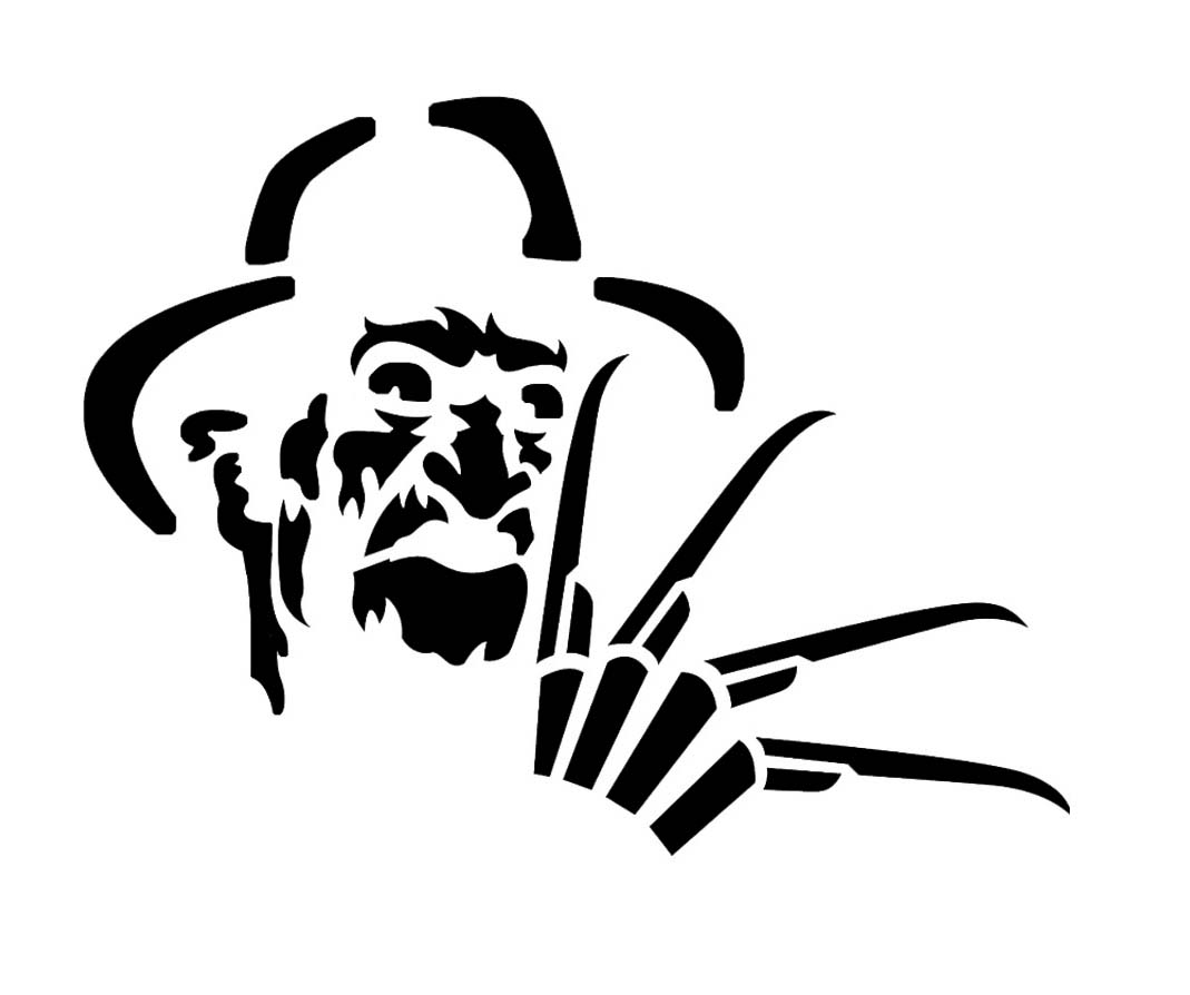 Free Freddy Glove Silhouette, Download Free Clip Art, Free.