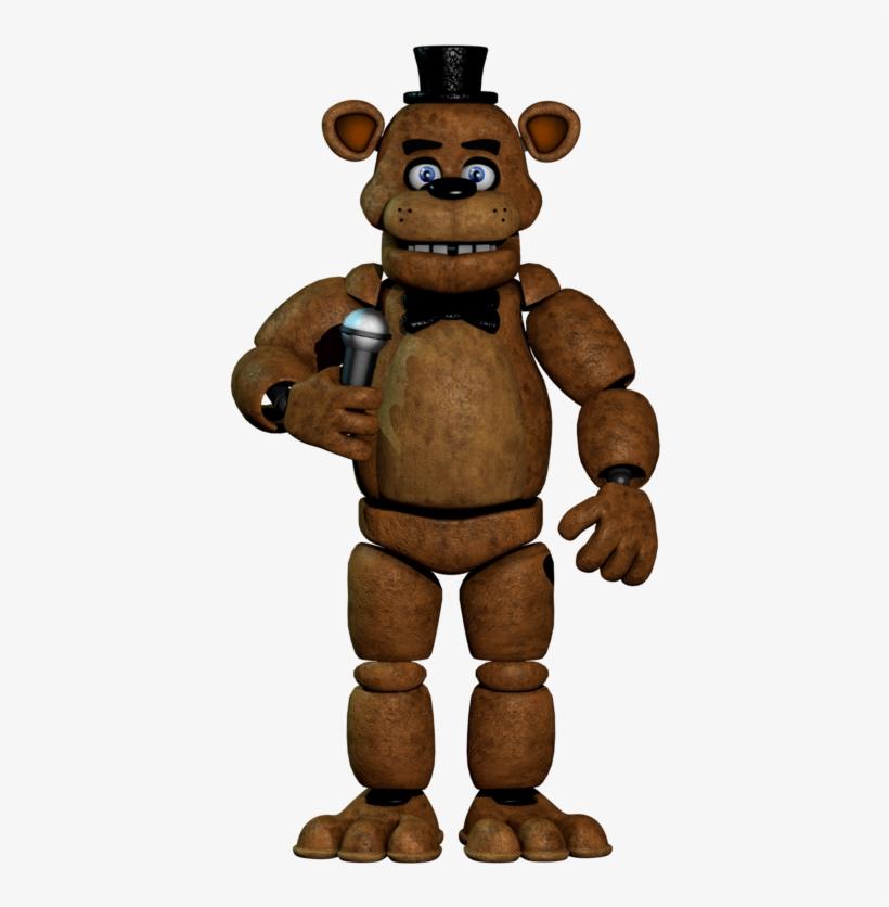 Freddy Fazbear Png.