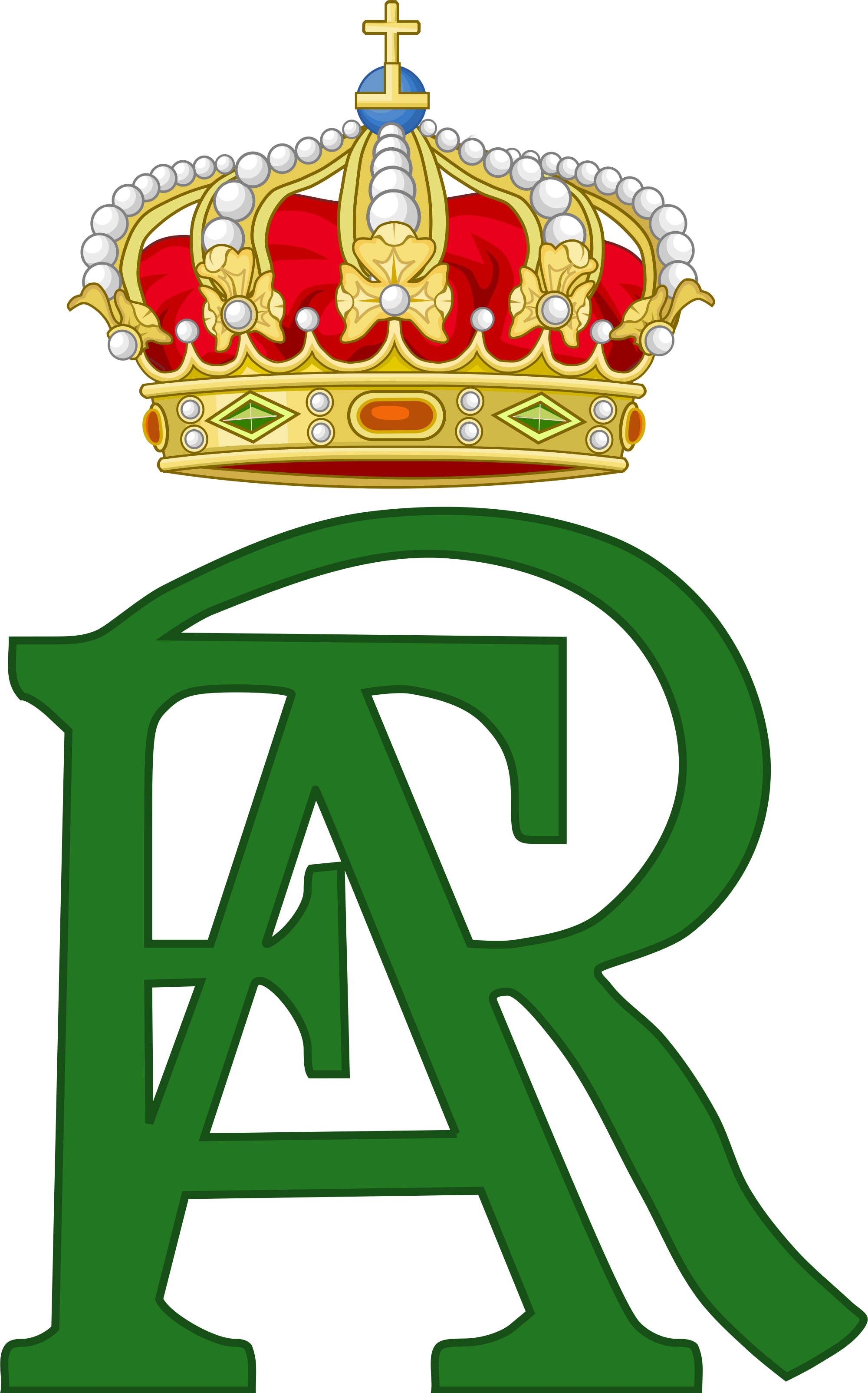 File:Royal Monogram of King Frederick Augustus III of Saxony.