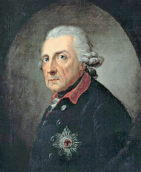Frederick The Great Portrait Clip Art Download.