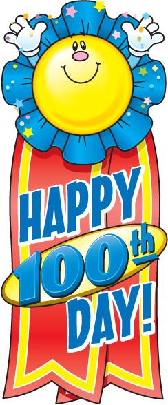 100 Days Clipart.