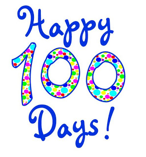 100 Days Of Fitness Clipart.