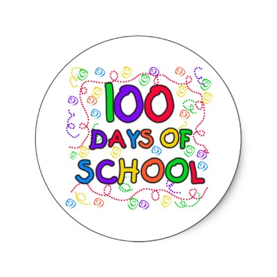 Free 100 Days Of School Clipart.