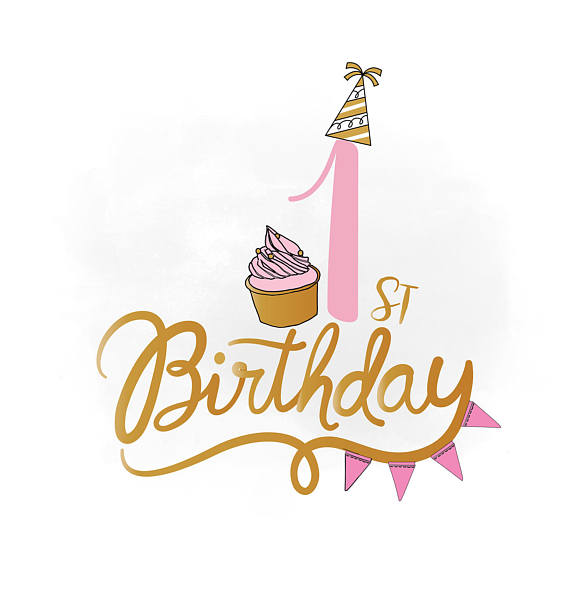 My 1st Birthday Clipart.