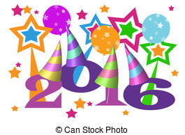 Happy New Year 2016 Clipart (86+).