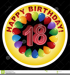 Happy Th Birthday Clipart.
