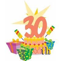 Happy 30th Birthday Clip Art Free.