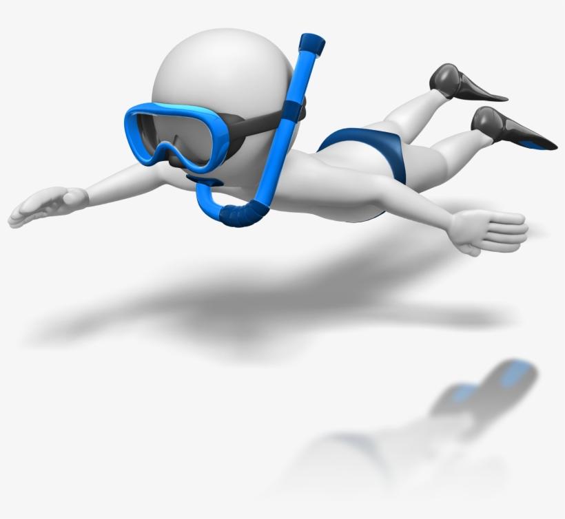 Diver Clipart Stick Figure.