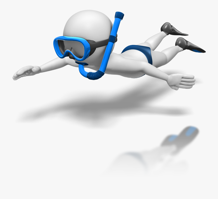 Diver Clipart Stick Figure.