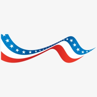 Clipart Banner 4th July.