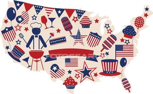Clipart Free 4th Of July Facebook.