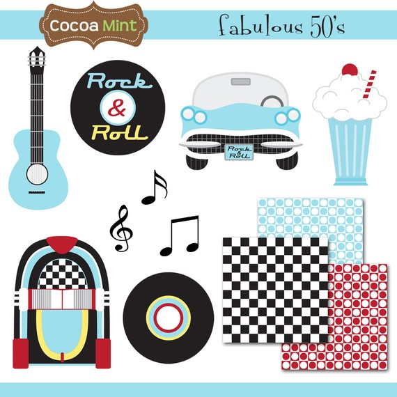 Free 50S Theme Cliparts, Download Free Clip Art, Free Clip.