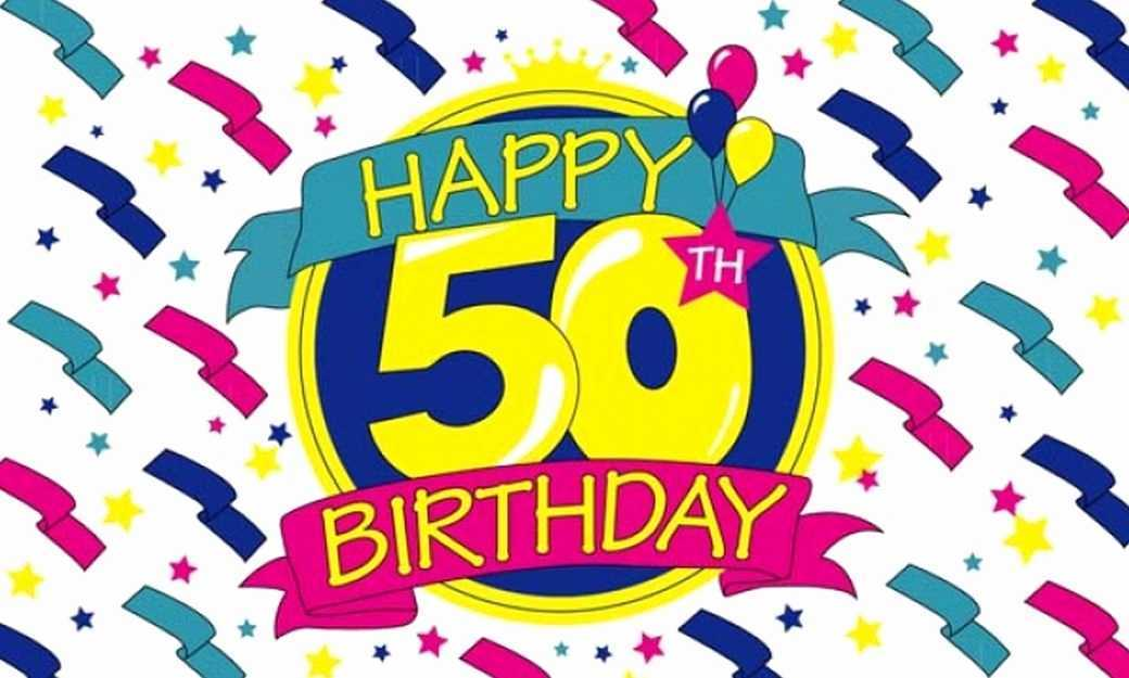 50th Birthday Clipart Free Download Clip Art.
