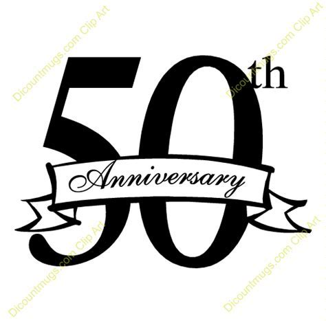 free clipart images 50th wedding anniversary.