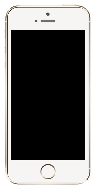 Free Clipart: IPhone 5S Gold.