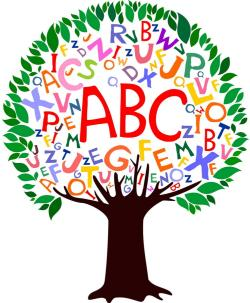 Abc Tree Clipart.