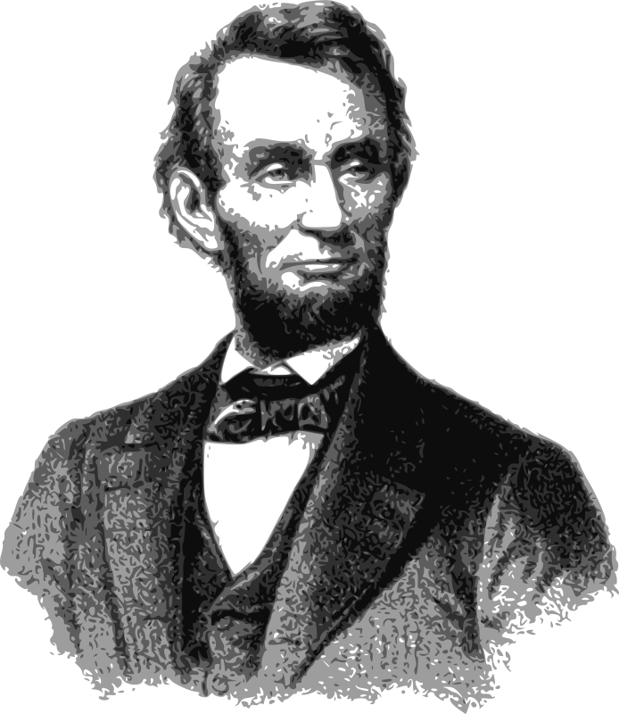 Free Clipart: Abraham Lincoln.
