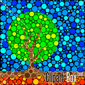 CLIPART ABSTRACT TREE.