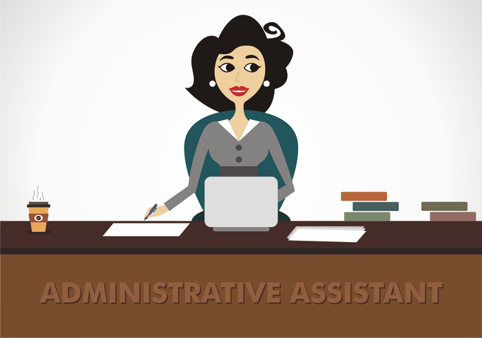 Administrative Assistant Vector.
