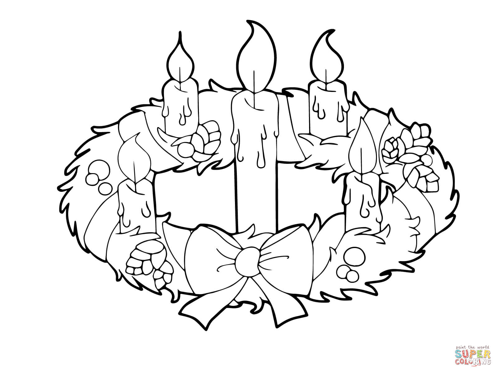 Free Advent Clipart Black And White, Download Free Clip Art.