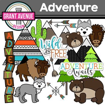 Adventure Clipart.