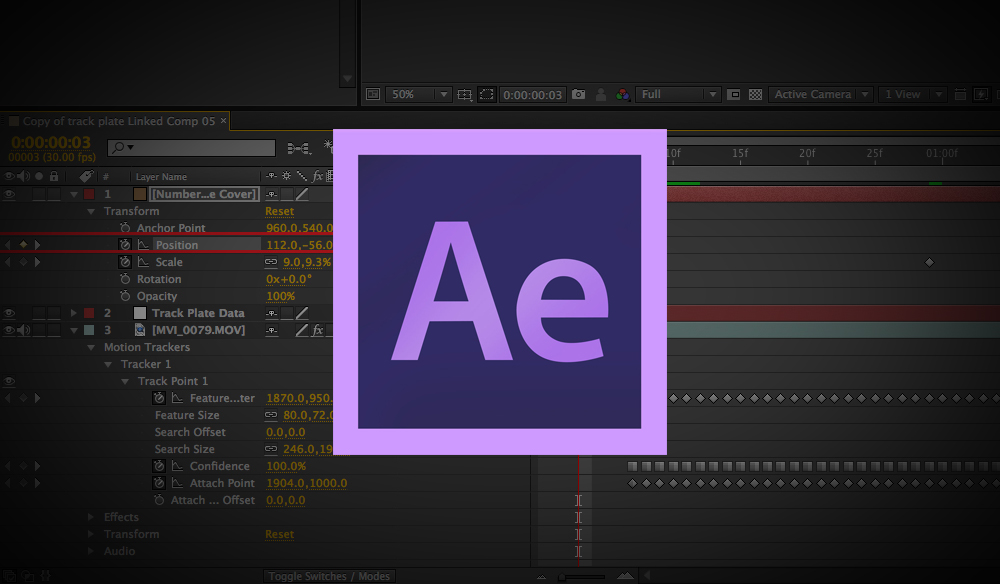 Free After Effects Templates: Title and Logo Effects.