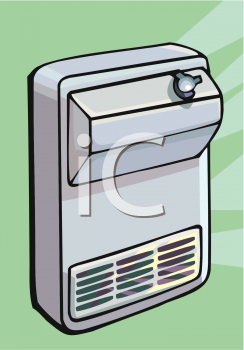 Air Conditioner Royalty Free Clip Art Image.