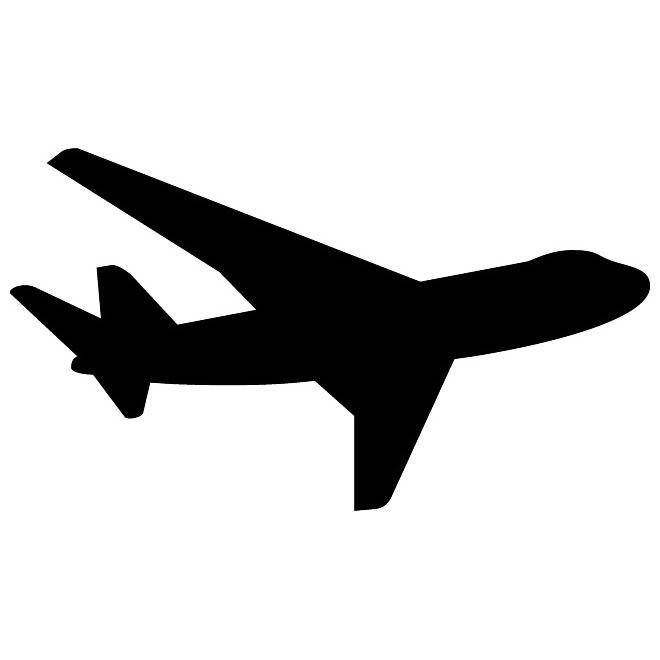 Airplane Silhouette Clip Art & Airplane Silhouette Clip Art Clip.