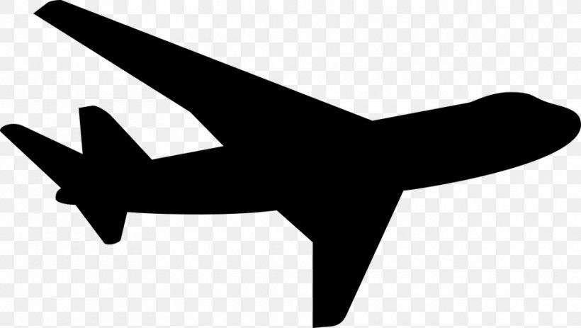 Airplane Silhouette Clip Art, PNG, 960x543px, Airplane, Air.