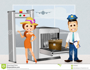 Free Clipart Airport Security.