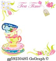 Tea Party Clip Art.