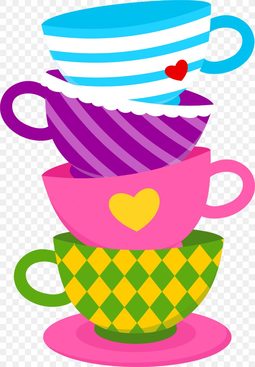 Alice\'s Adventures In Wonderland Cupcake Teacup Tea Party.
