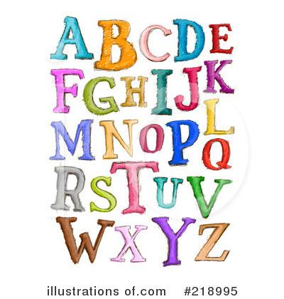 Alphabet Clipart #218995.