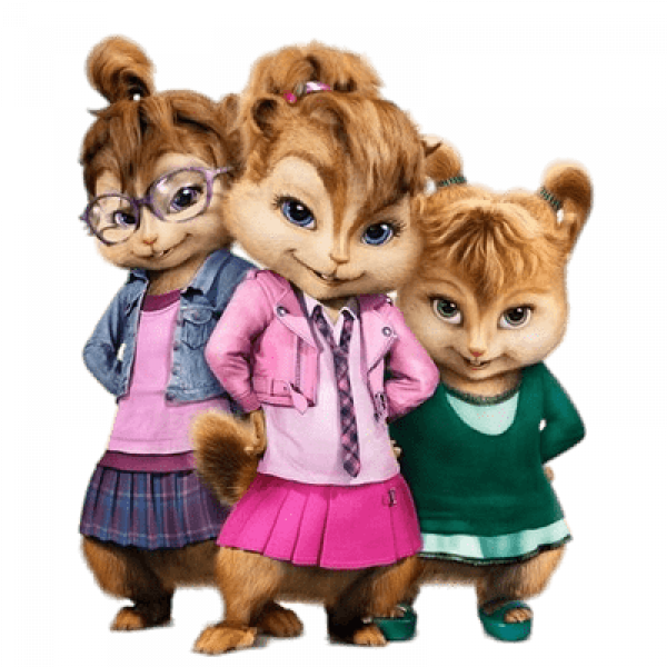 Alvin And The Chipmunks Transparent Free PNG Images.
