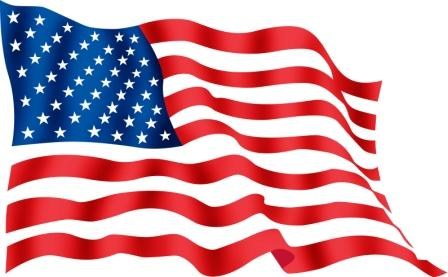 Free American Flag Clipart Pictures.