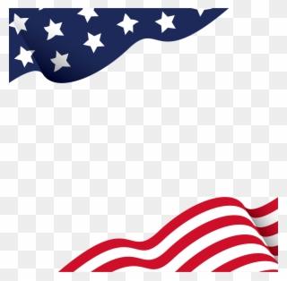 American Flag Borders.