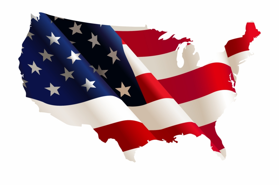 Png Free Download America Transparent Flag Usa.