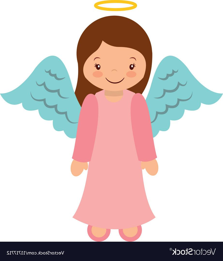 Top Cute Angel Graphics Vector Design » Free Vector Art.